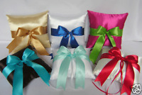 Wedding Accessories Green Ring Bearer Pillow Your Color