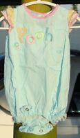 EMBROIDERED~POOH~girls~ROMPER! (3/6~MO) MUST~C! @@