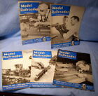 * 1950 ** MODEL RAILROADER Magazines - 5 diff issues *