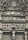 CPA 80 AMIENS TYMPAN DU PORCHE DE LA VIERGE DOREE 1916