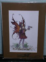 Amy Brown - Believe - Matted  Petite - SIGNED