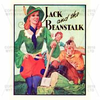 Miniature 1930s Jack And The Beanstalk Theatrical Poste