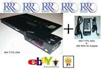 Lenovo ThinkPad Advanced Mini Dock Type 2504 & 90W AC T60 T61 T400 T500 R60 Z61