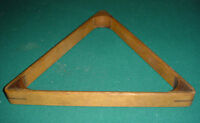 Antique single jointed pool ball rack (30263)