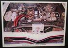 PRINT - PETER BROCK 1973 HDT XU1 TORANA ENGINE SHOT