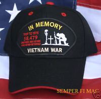 VIETNAM WAR 58479 KIA WIA HAT US MARINES NAVY POW MIA ARMY AIR FORCE COAST GUARD