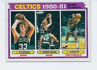 1981-82 TOPPS CELTICS BIRD #45 VENDING FRESH MINT 1981