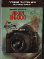 Jump Start Nikon D5000 Training DVD- Watch & Learn!