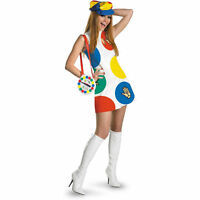 Adult Womans Board Game Twister Sexy Deluxe Costume