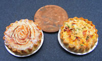 1:12 Scale Quiche Dolls House Miniature Bakery Food Kitchen Food Accessory