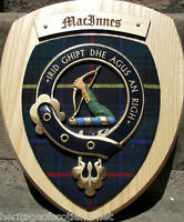 Scottish Gifts MacInnes Family Clan Crest Wall Plaque