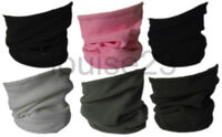 W14 DURABLE NECK WARMER THERMAL WARMTH 3in1 SNOOD BEANIE WORK HIKE SKI HAT 6col