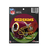New NFL Licensed Washington Redskins Round Decal Window Sticker Football League