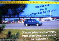 Carte Postale du Nord Pas de Calais bienvenue humour