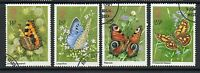 GB 1981 Butterflies SG1151-1154 fine used set stamps