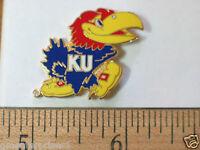 Kansas Jayhawks Football Mascott Pin