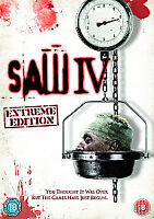 Saw IV (4) - EXTRENE EDITION - NEW DVD - IN STOCK - FREE P&P