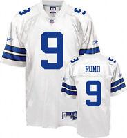 Authentic NWT Tony Romo 9 Reebok Premier SEWN Jersey Dallas Cowboy MEN Sz L XL
