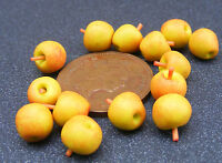 1:12 Scale 10 Cox's Apples Dolls House Miniature Fruit Food Kitchen Accessory