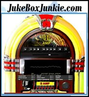 Juke Box Junkie.com Website Web Store Rock n Roll Juke Box Wurlizter Domain Name