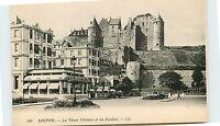 76-DIEPPE-Le vieux chateau et les jardins