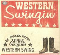 WESTERN SWINGIN' - 3 CD BOX SET - THREE GOLDEN DECADES COUNTRY BOB WILLS & MORE