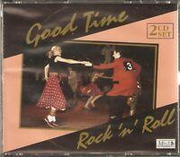 GOOD TIME ROCK N ROLL - 2 CD BOX SET - EDDIE COCHRAN, BUDDY KNOX & MORE