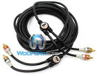 MONSTER IMXLN2C-5M RCA 15' MICROXLN CABLE 2 CHANNEL 16 FEET FOOT WIRE CORD NEW