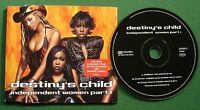 Destiny's Child Independent Women Part 1 CD Single