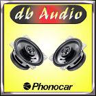 Phonocar 2/061 Coppia Casse a 2 Vie da 10 cm 100 mm Coassiali per Auto