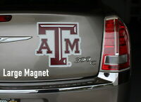 Texas A&M Car  Magnet  Made  In  USA College Football Sports Decor Aggies  fans
