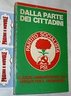 DALLA PARTE DEI CITTADINI - appunti programma elezioni amministrative 1985 PSI(a