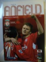 Programme, Liverpool v Manchester United, 15.01.2005, Barclays Premiership, VGC