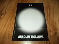 Absolut vodka(Hollow)-2002 magazine advert