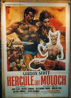"AFFICHE CINEMA : ""HERCULE CONTRE MOLOCH"" 1964"