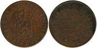 Monnaie pays Bas/east indies 2 1/2 cent 1945 bronze  (mc7668)