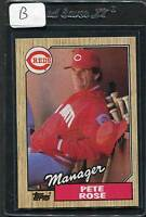 1987 Topps Pete Rose #393 Mint (B)