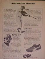 1978 Reggie Jackson New York Yankees Baseball Puma World Series Shoe Promo AD