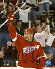 CHRIS CHELIOS signed DETROIT RED WINGS photo w/ COA