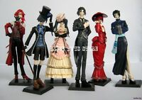 Black Butler Kuroshitsuji Ciel Japan Anime Figure Figures Toy Lot of 6pc NEW