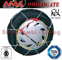 CATENE DA NEVE 560-15  165/55-16  MAD AUTO GR 60 OMOLOGATE 9MM