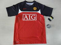 1082 NIKE XL MANCHESTER UNITED MAGLIA MAGLIETTA TRAINING JERSEY SHIRT CAMISETA