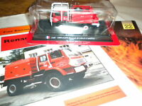 Del Prado World Fire Engines - FRANCE  1999 CCFF Renault M210-12 Camiv code 22