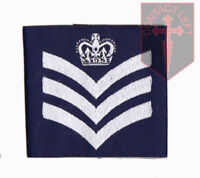 Pair of Official Flight Sergeant Royal Air Force Rank Slides  RAF ( NEW