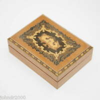 DECORATIVE WOODEN BOX   TRADITIONAL EGYPTIAN WITH FINE INLAY