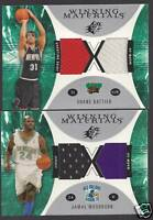 JAMAL MASHBURN 2003-04 SPX Winning Materials