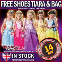 Disney Princess Girls Fancy Dress Complete Costume Kit Age 3 4 5 6 7 8