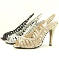 Stiletto Heel Slingback Dress Sandals, Women's Shoes 5.5-10US/36-41EU/3.5-8AU