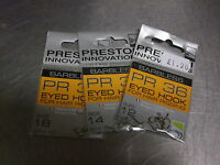PRESTON INNOVATIONS EYED PR36 METHOD FEEDER!  CARP MATCH HOOKS SET/3