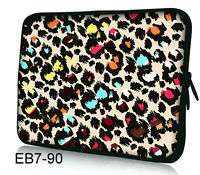 """Leopard Case Bag Cover For 7"""" Tablet Android PC MID/ Barnes &Noble NOOK Color"""